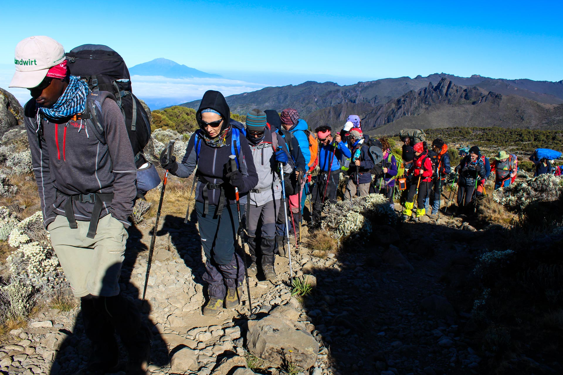 5 Days Marangu Route Climbing